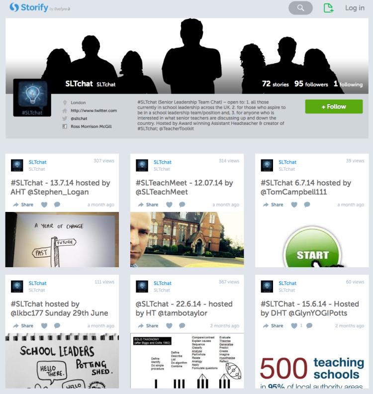@SLTchat @Storify Leadership archives