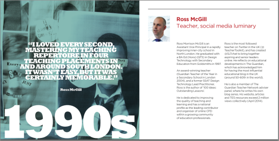 110 years of education at Goldsmiths College - Nov 2014