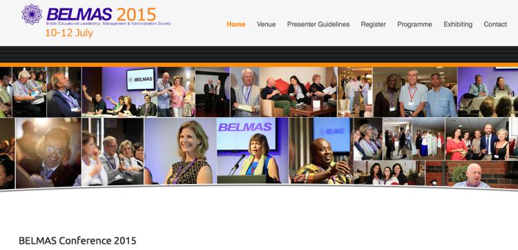 BELMAS Conference