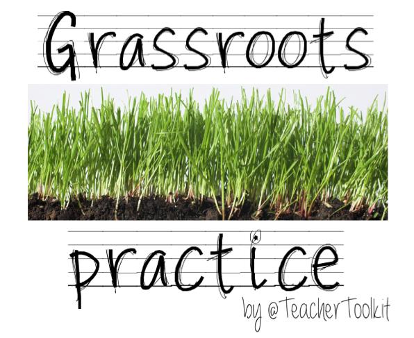 Grassroots practice TeachMeet