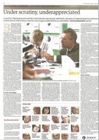 The Guardian: Under scrutiny, under-appreciated - July 2014