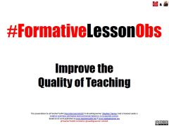 Formative Lesson Obs Sellfy