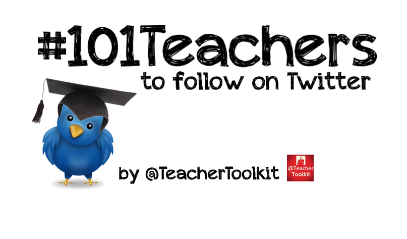 101 Teachers to Follow