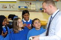 Ross Morrison McGill teaching John Kelly Girls Technology College