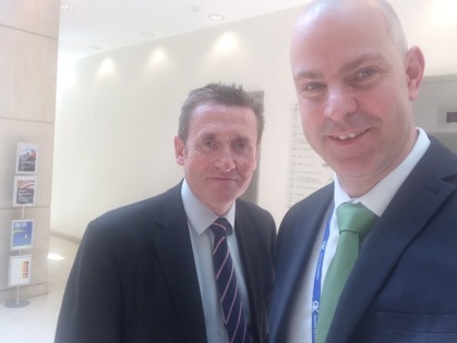 @TeacherToolkit with @HarfordSean at Ofsted HQ