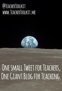 One Small Blog for Teachers One Giant Blog for Teaching