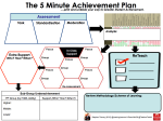 The 5 Minute Achievement Plan by @TeacherToolkit and @LeadingLearner