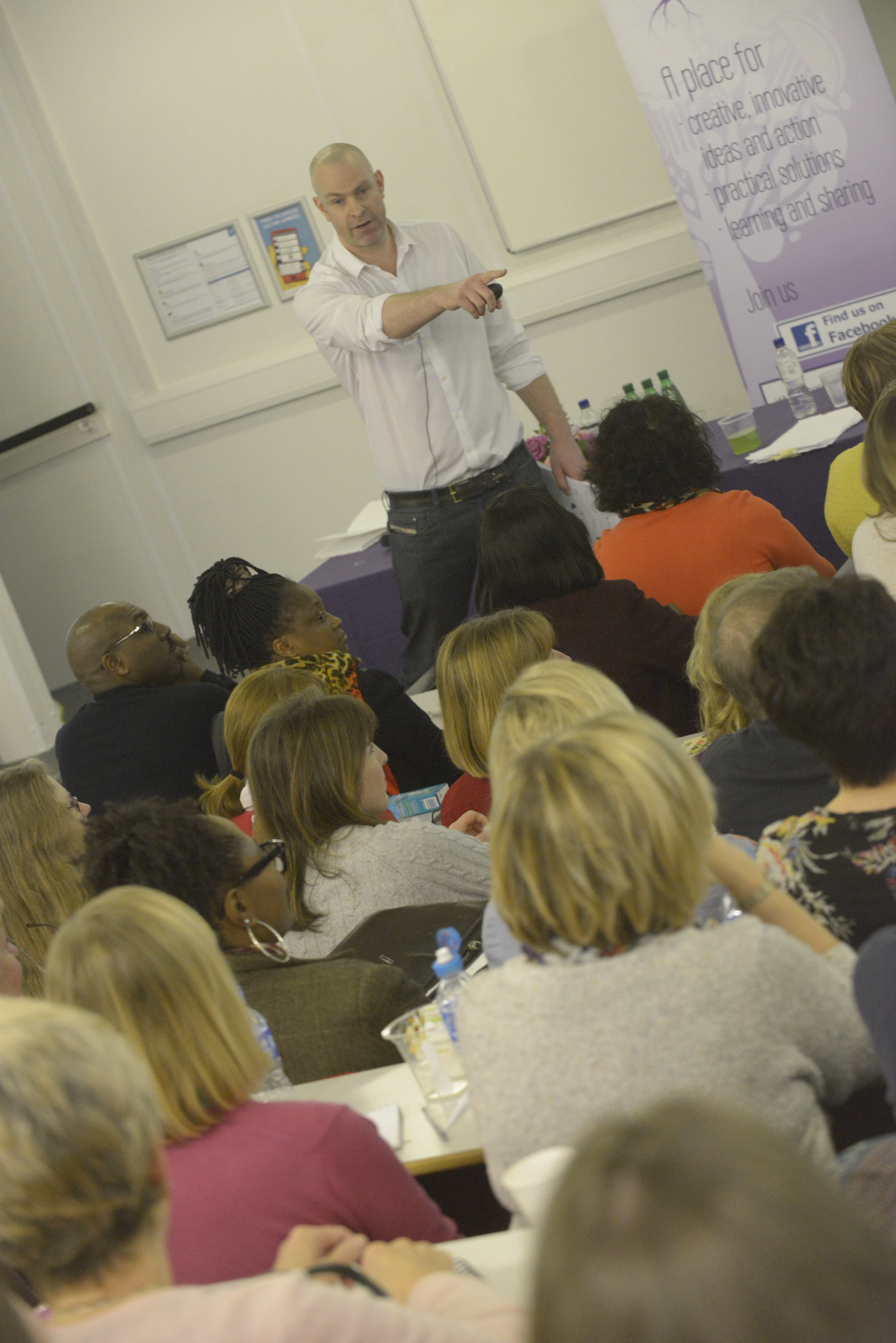 Teacher training, webinars and conferences ...