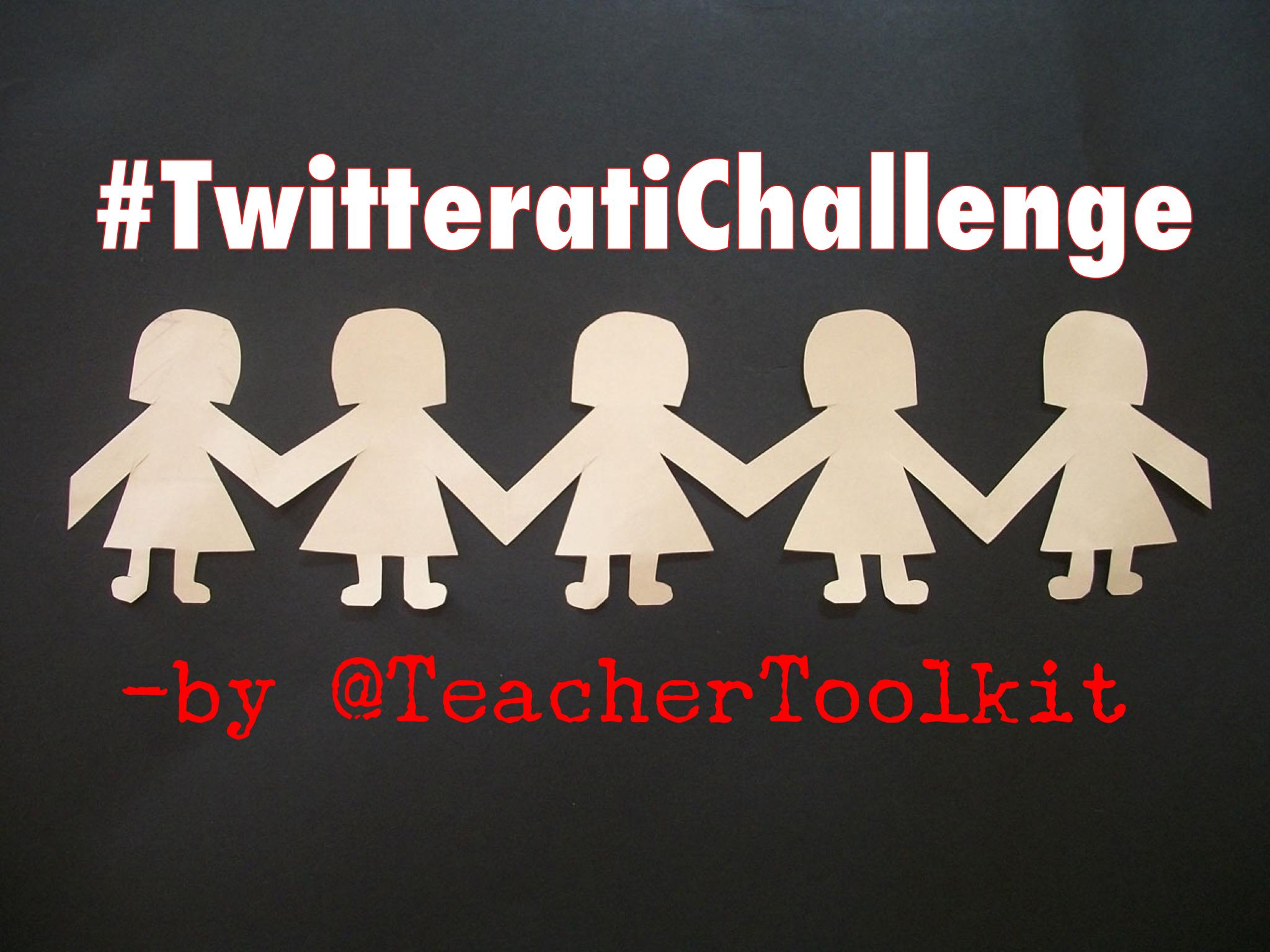Take the #TwitteratiChallenge!