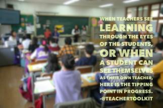 Poster Quote @TeacherToolkit