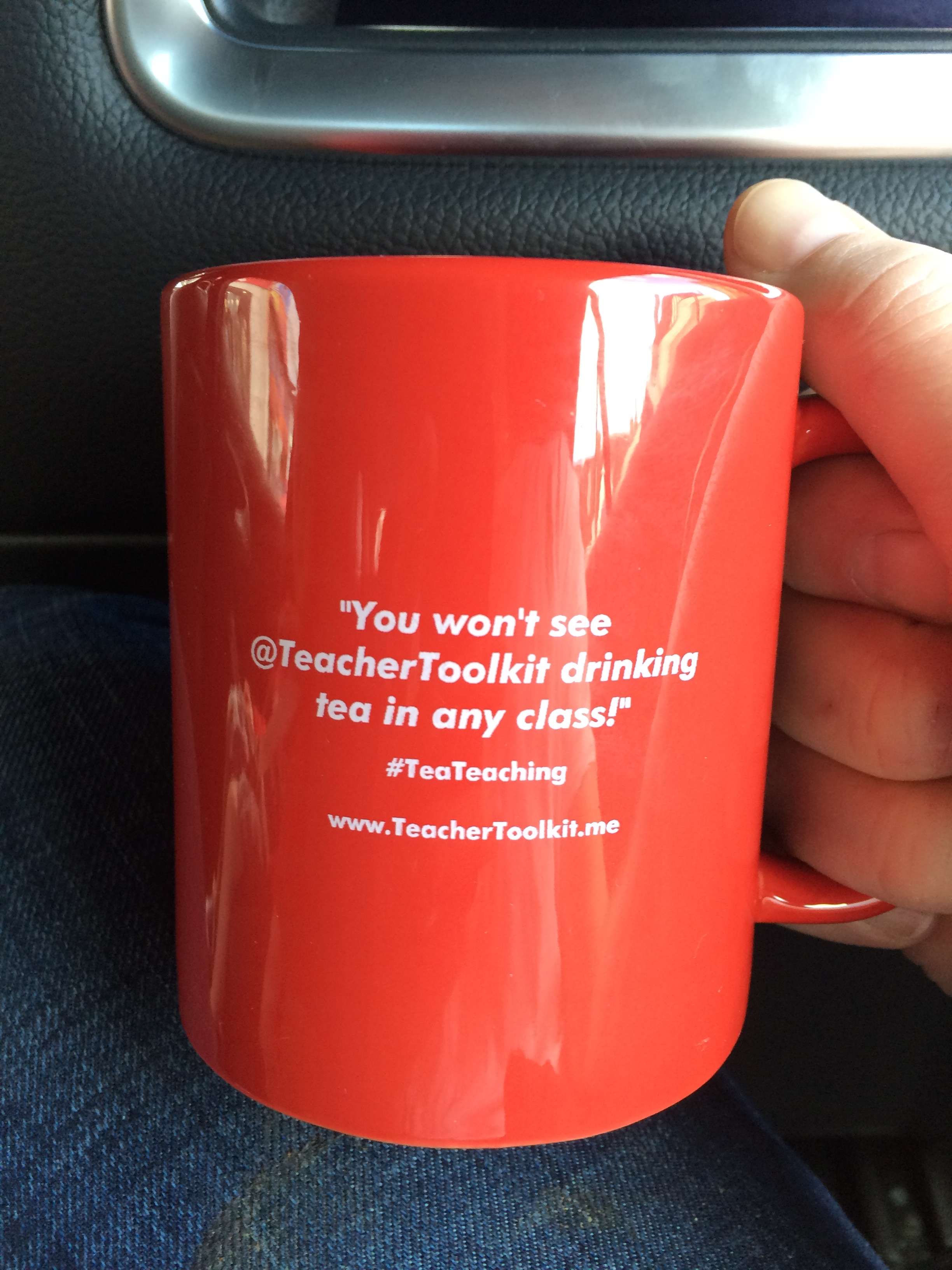 Tea Teaching @TeacherToolkit Coffee Mug Red