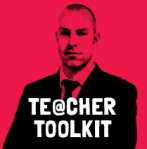 @TeacherToolkit logo new book Vitruvian man