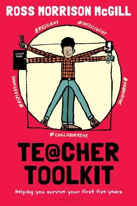 @TeacherToolkit Book Vitruvian Teacher Man Resilience Version 2