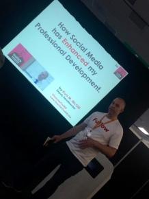 Digital Education Show UK @TeacherToolkit CPD conference Presenting