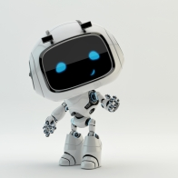 shutterstock_266042312 Cute little robotic characters