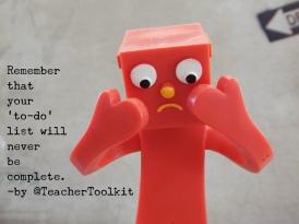 To Do List by @TeacherToolkit